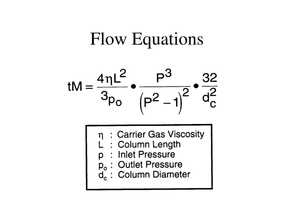 Flow Equations