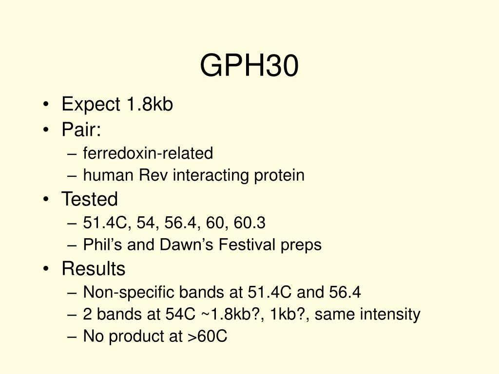 GPH30