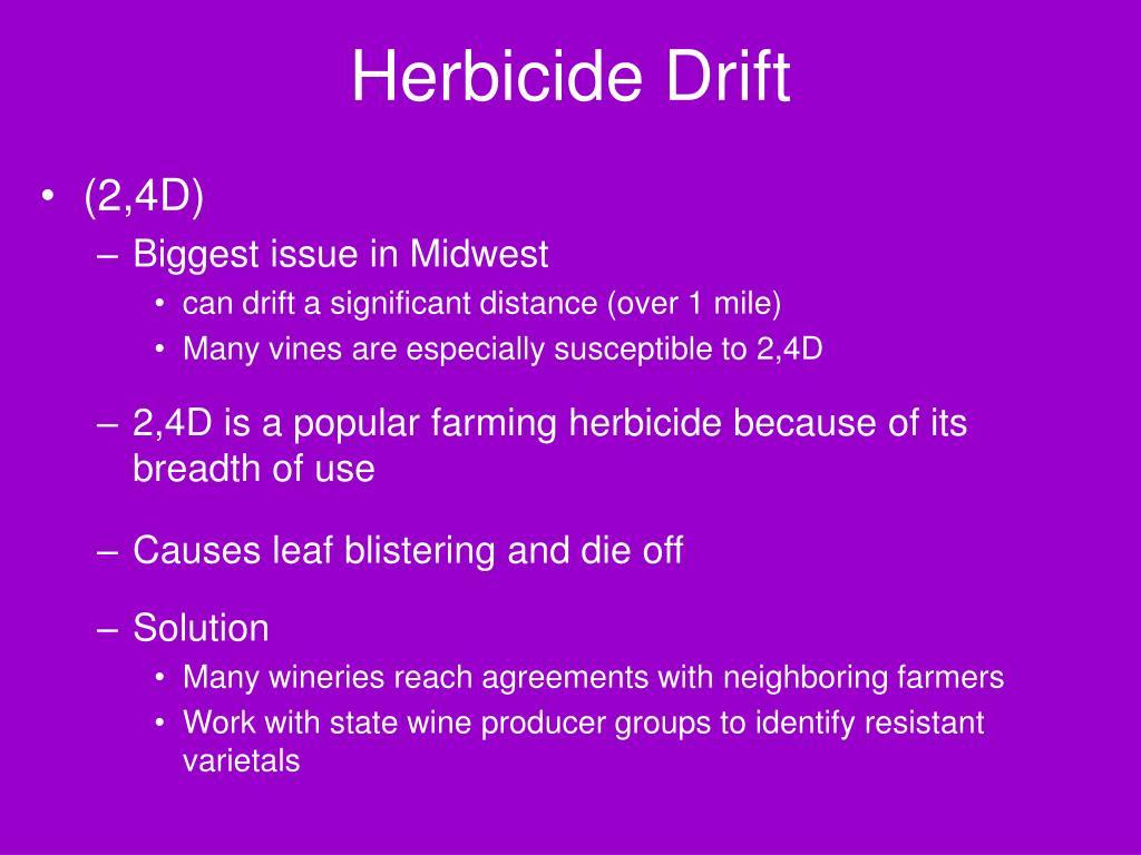Herbicide Drift