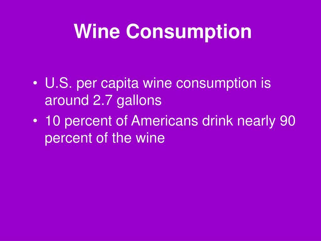 Wine Consumption