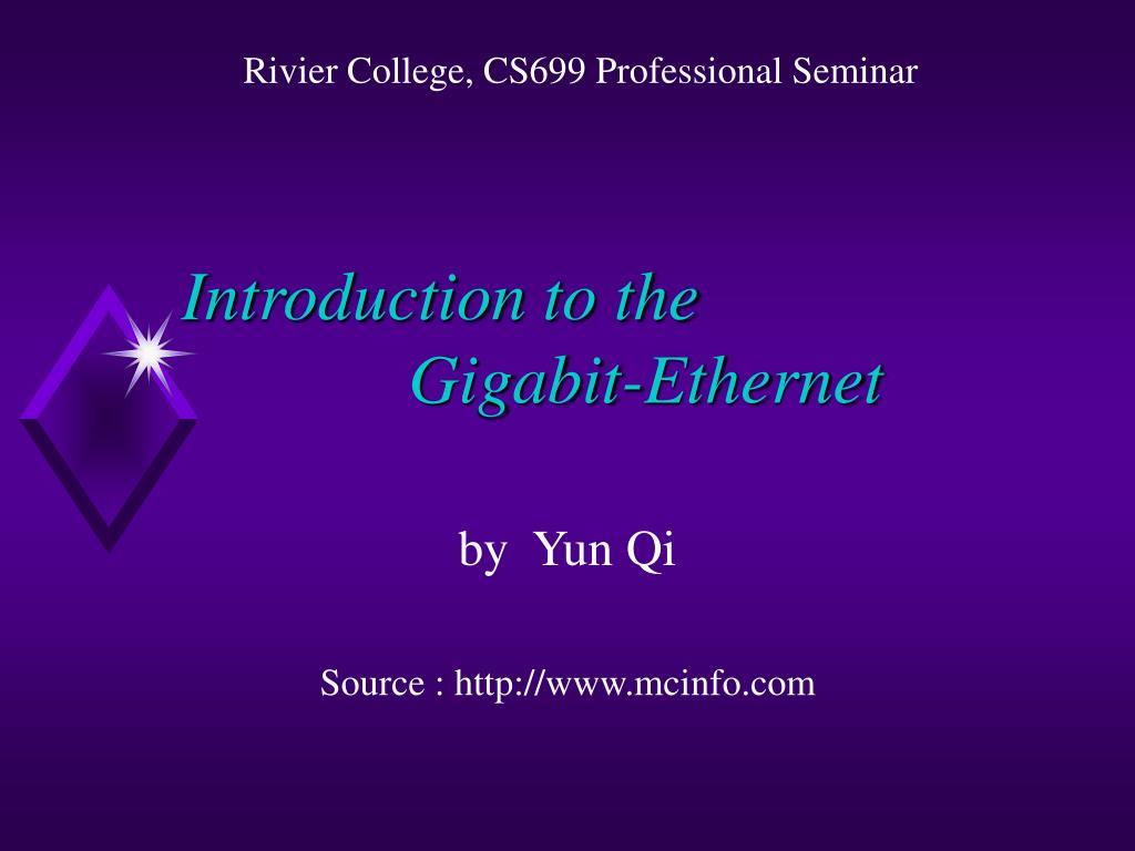Rivier College, CS699 Professional Seminar