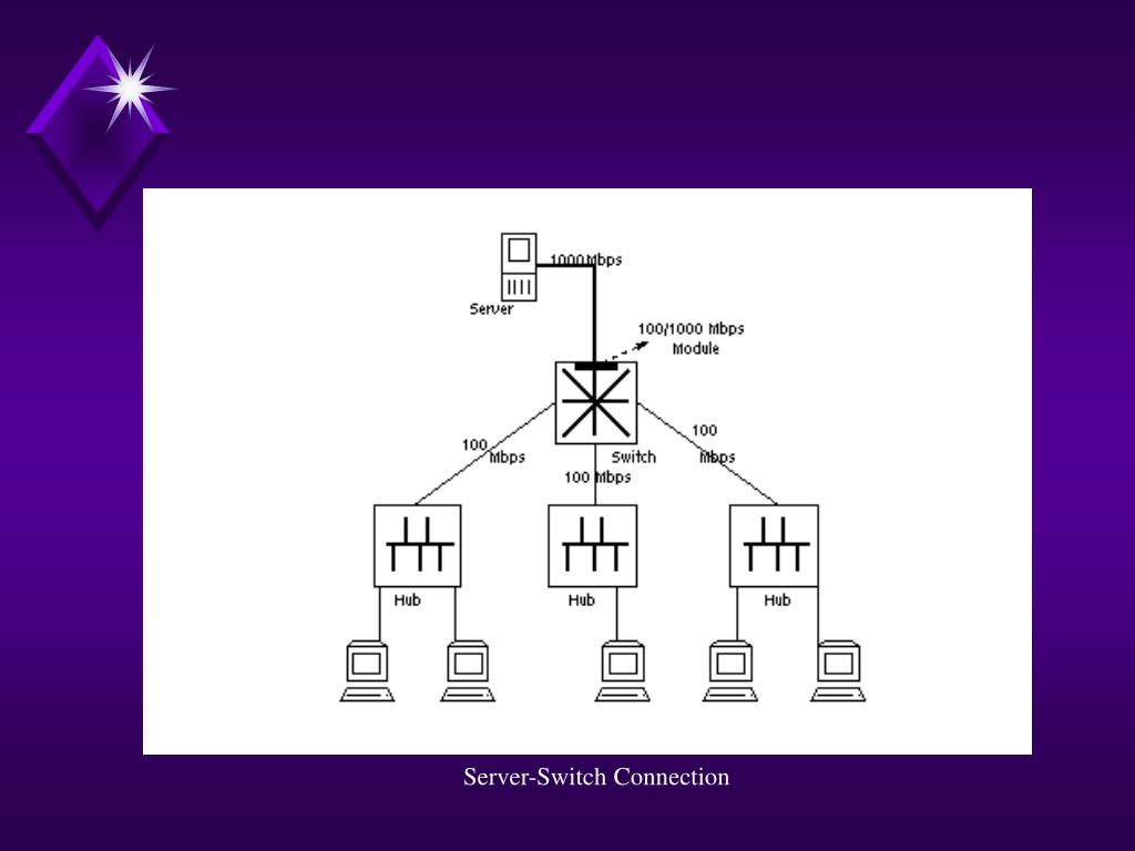Server-Switch Connection