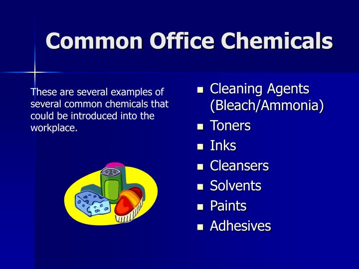 Common Office Chemicals