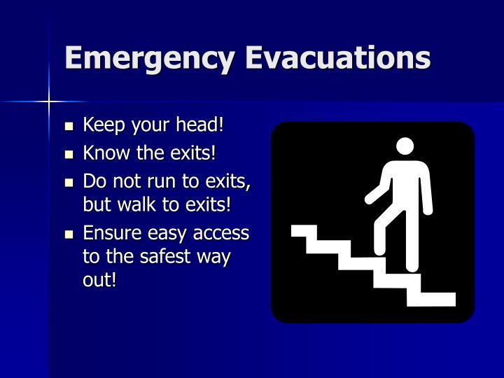 Emergency Evacuations