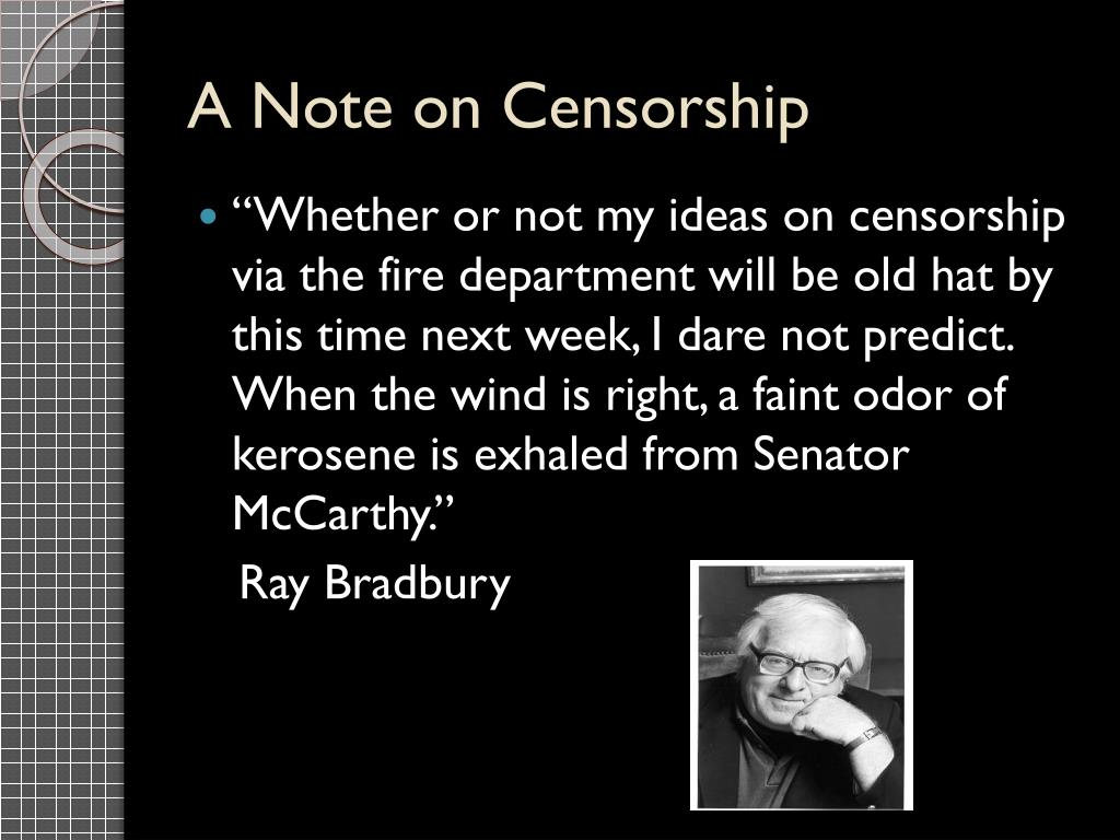 A Note on Censorship