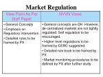 market regulation