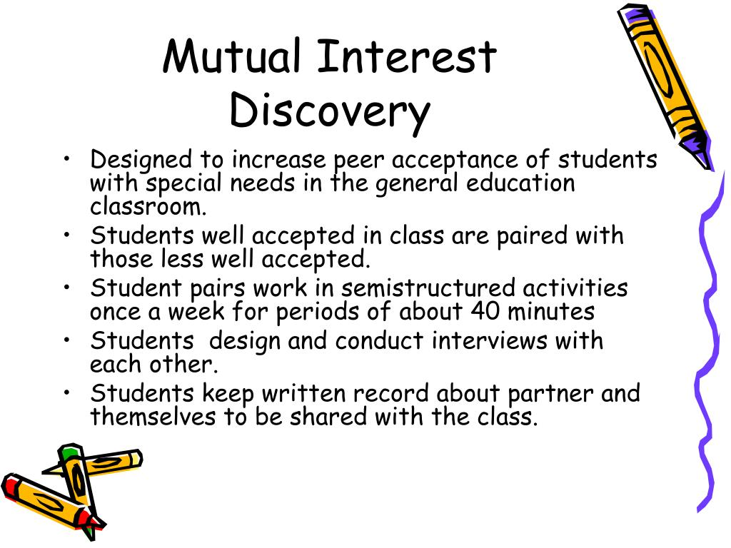 Mutual Interest Discovery