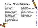 school wide discipline