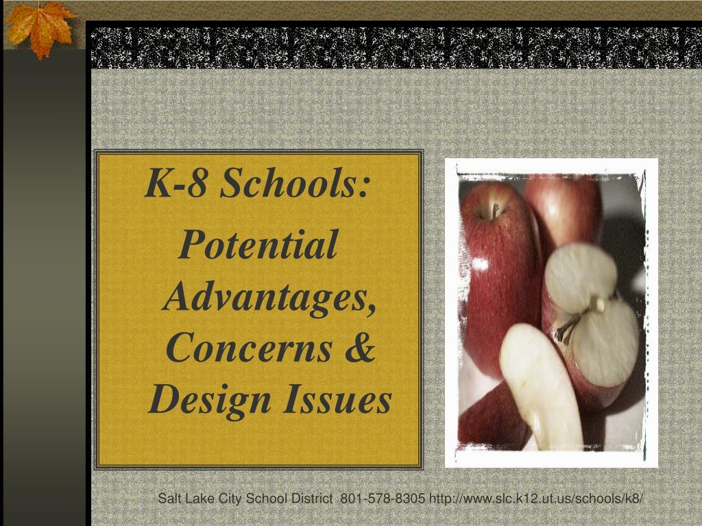 K-8 Schools:
