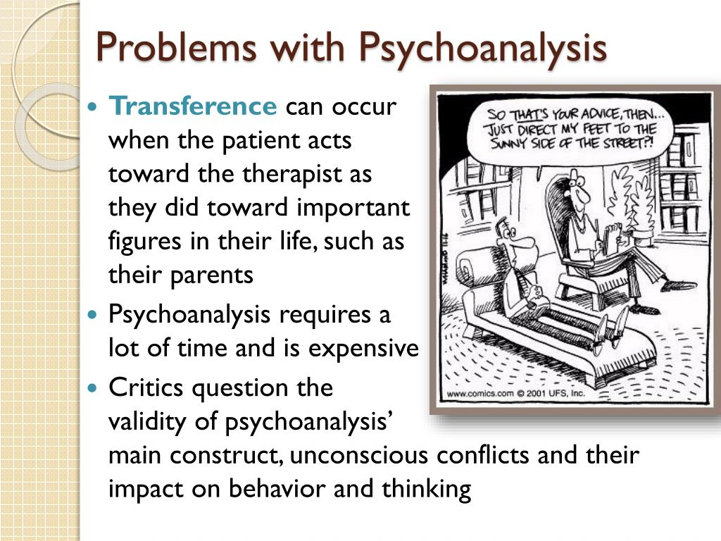 Problems with Psychoanalysis