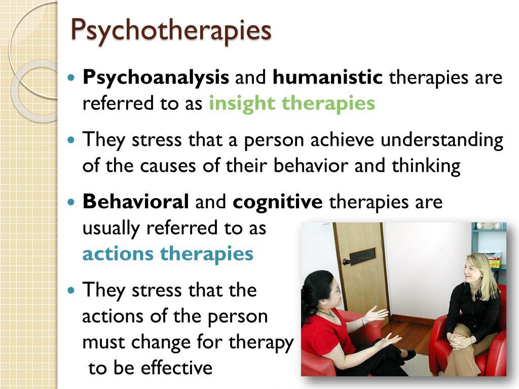 Psychotherapies