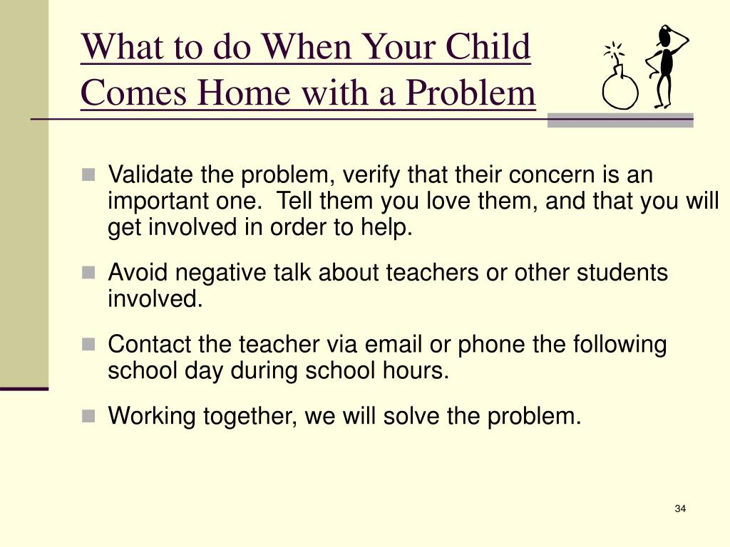 What to do When Your Child