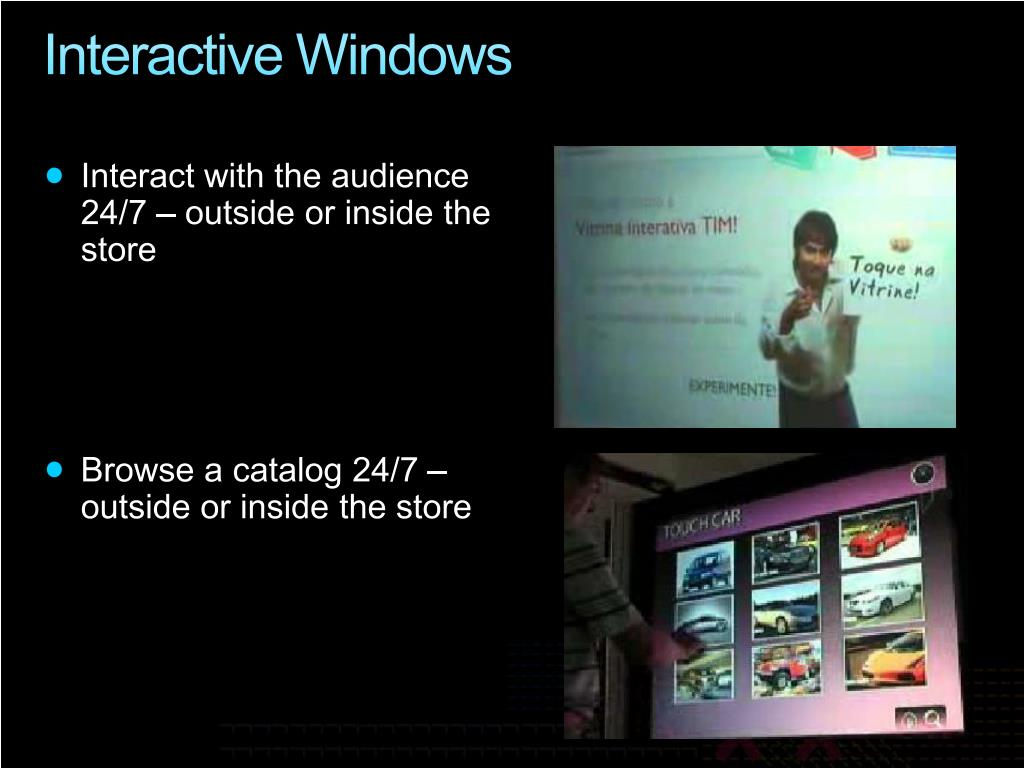 Interactive Windows