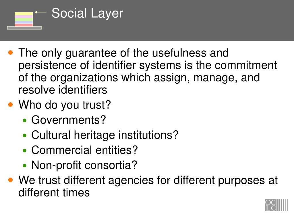 Social Layer