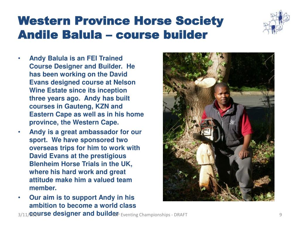 Western Province Horse Society