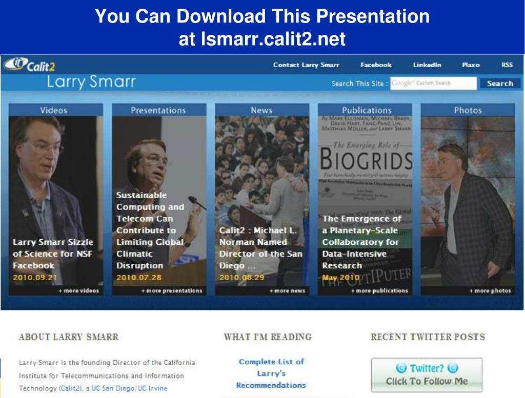 You Can Download This Presentation