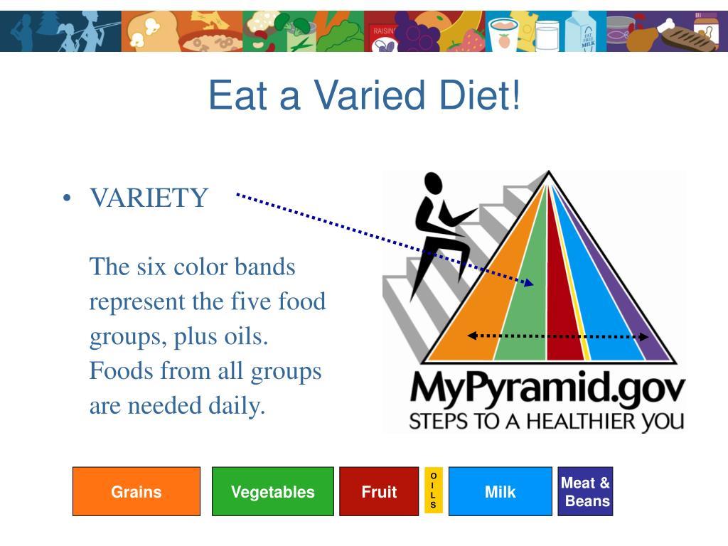 Eat a Varied Diet!