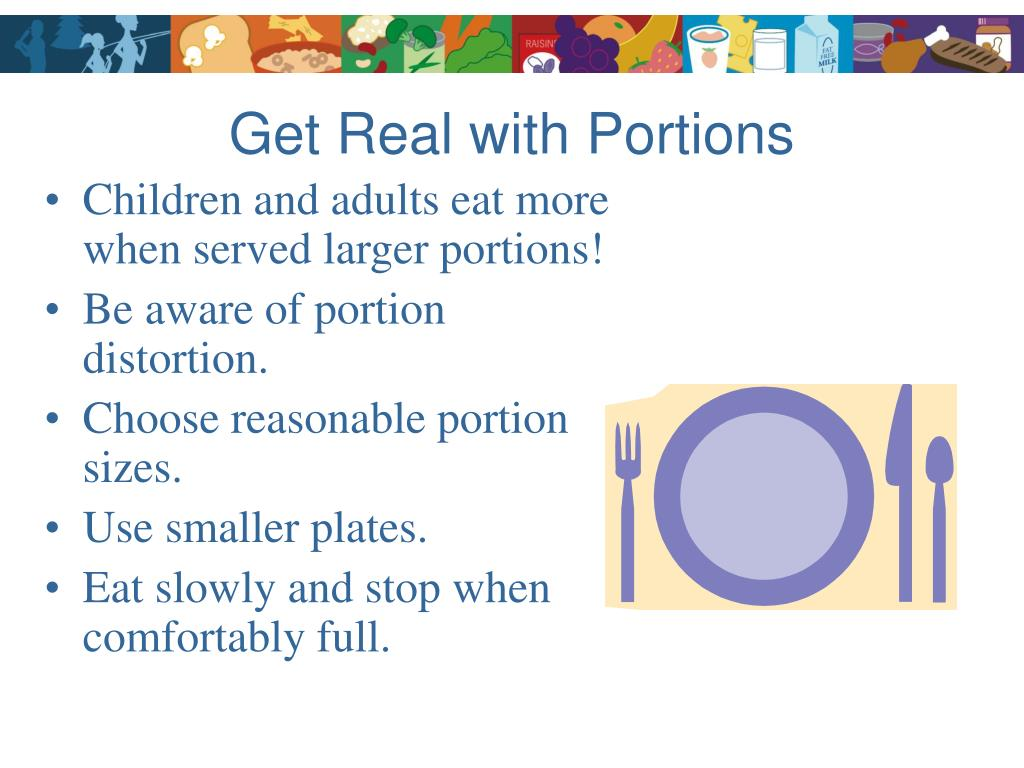 Get Real with Portions