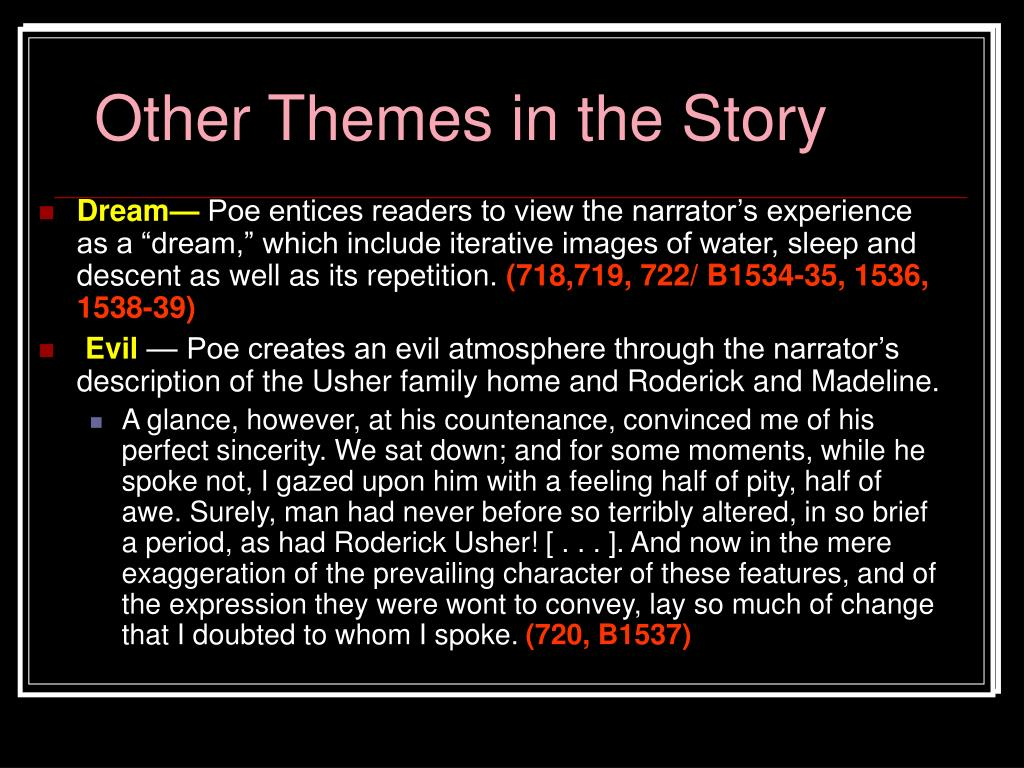 Other Themes in the Story