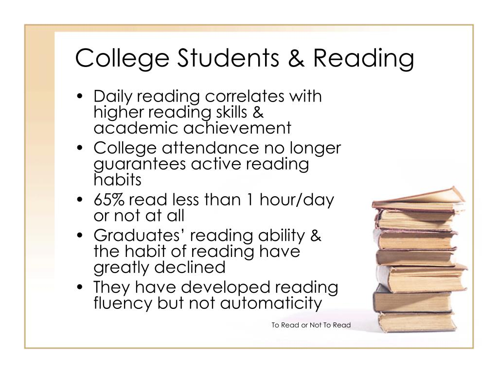College Students & Reading