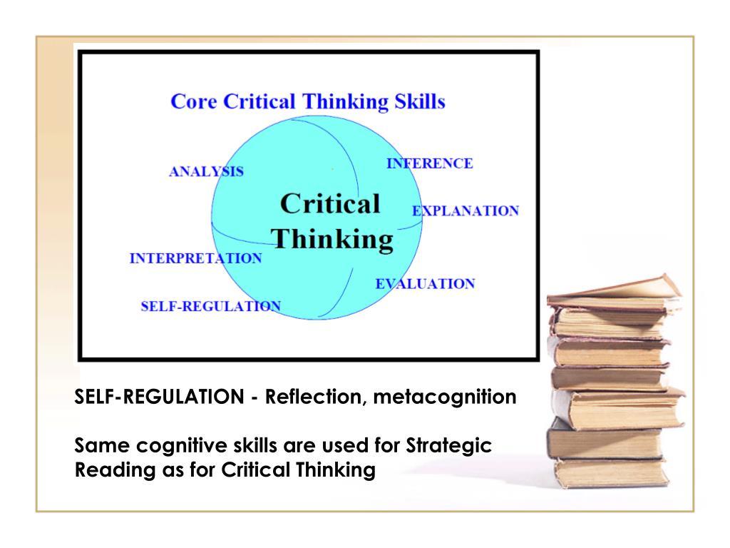 SELF-REGULATION - Reflection, metacognition