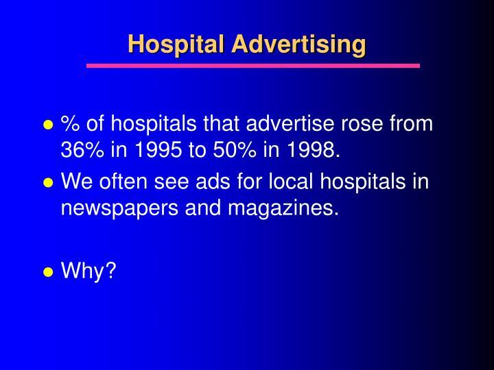 Hospital Advertising