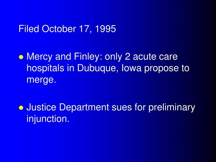Filed October 17, 1995