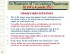 an example of technology roadmap afpa s agenda 202081