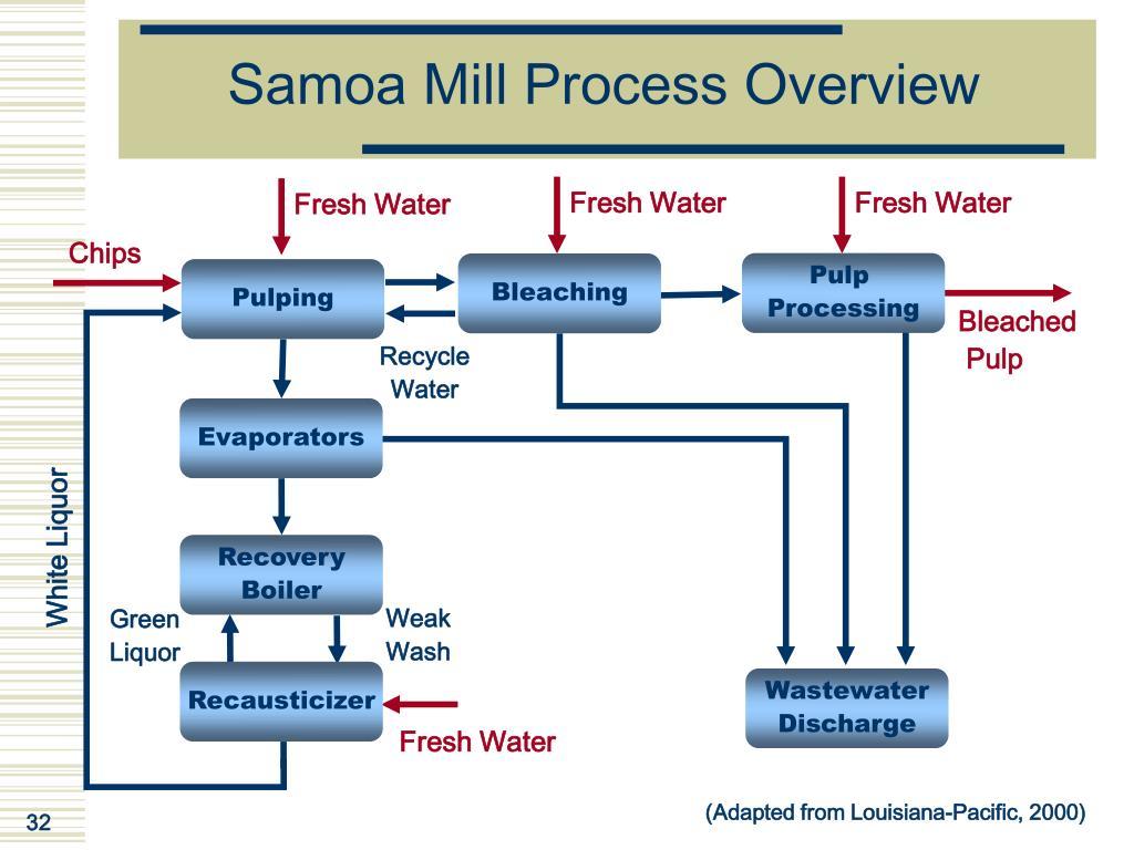 Samoa Mill Process Overview
