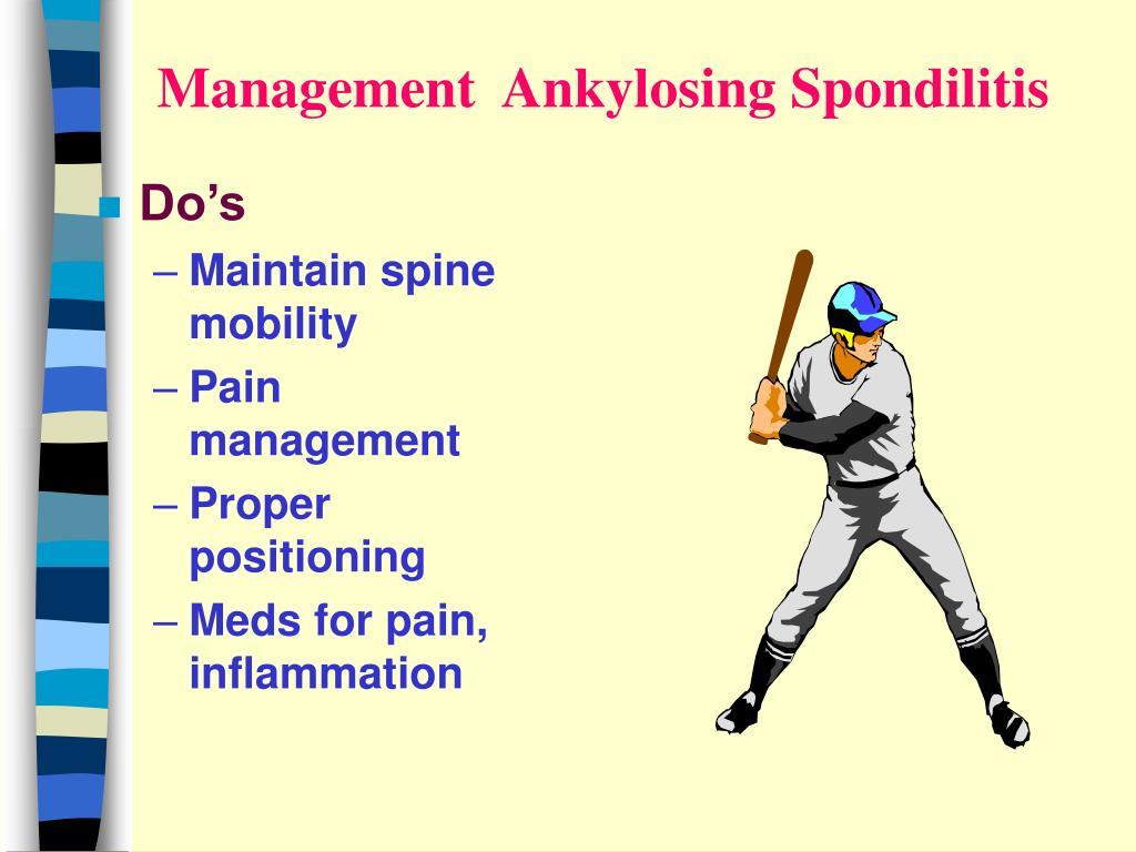 Management  Ankylosing Spondilitis