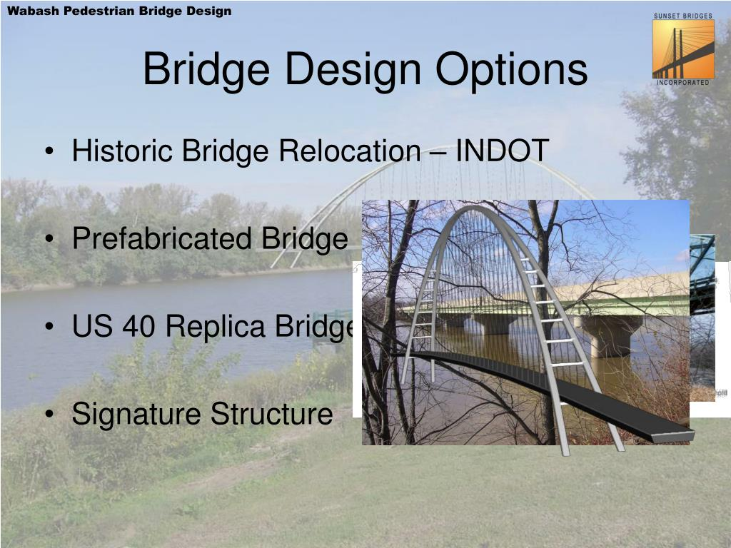 Bridge Design Options