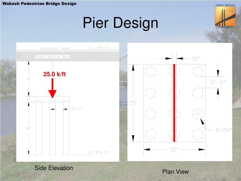 Pier Design