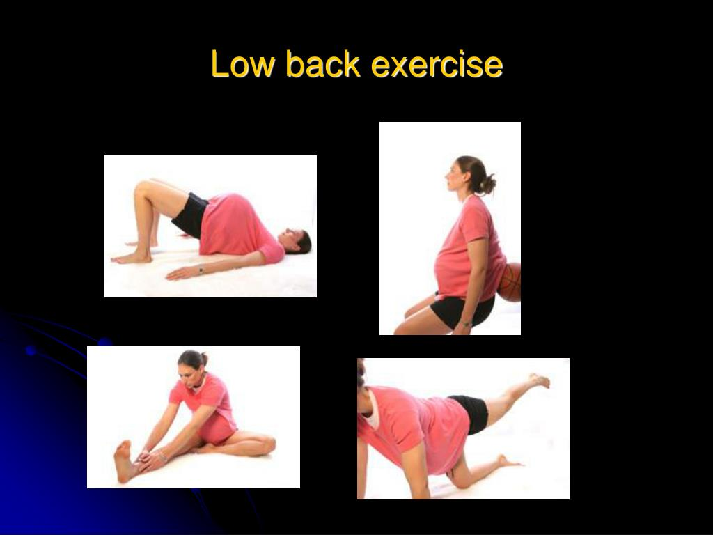 Low back exercise