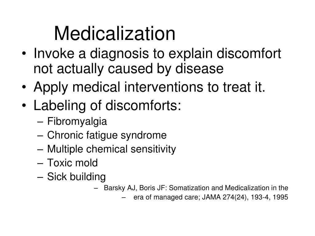 Medicalization