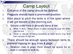 camp layout
