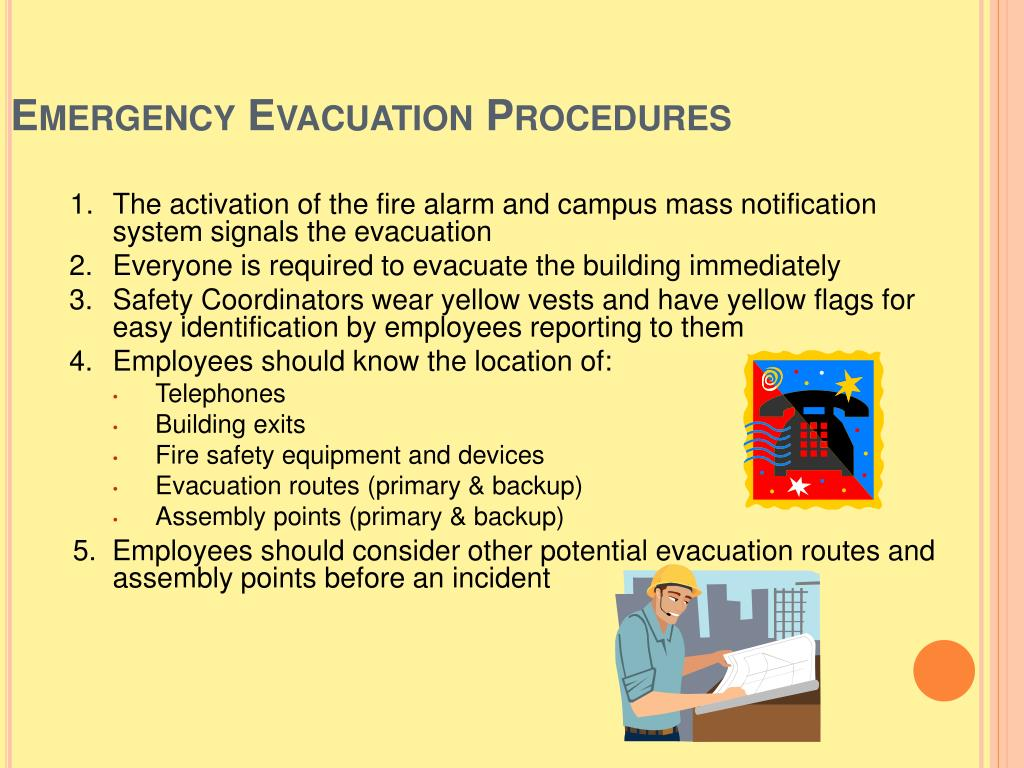 Shelter In Place Sign in addition Safety Coordinator Emergency Evacuation Training furthermore 100 X Ear Defenders Labels 50mm X 50mm in addition Evacuation Diagrams as well Emergency Signs Clipart. on fire alarm procedures