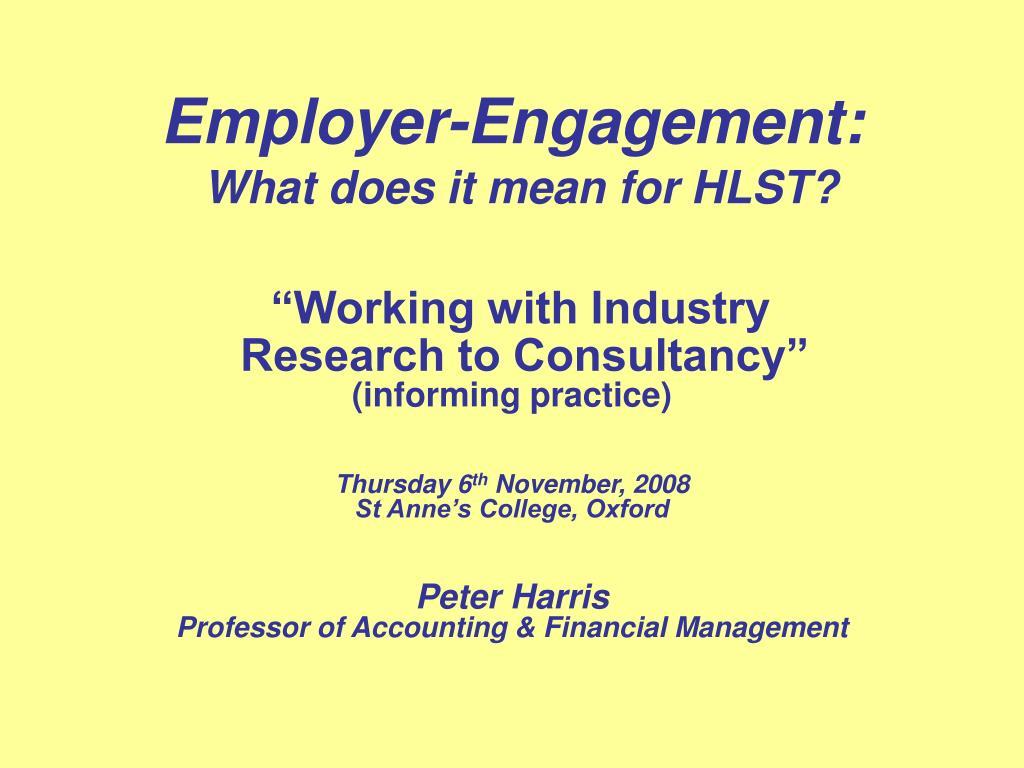 Employer-Engagement: