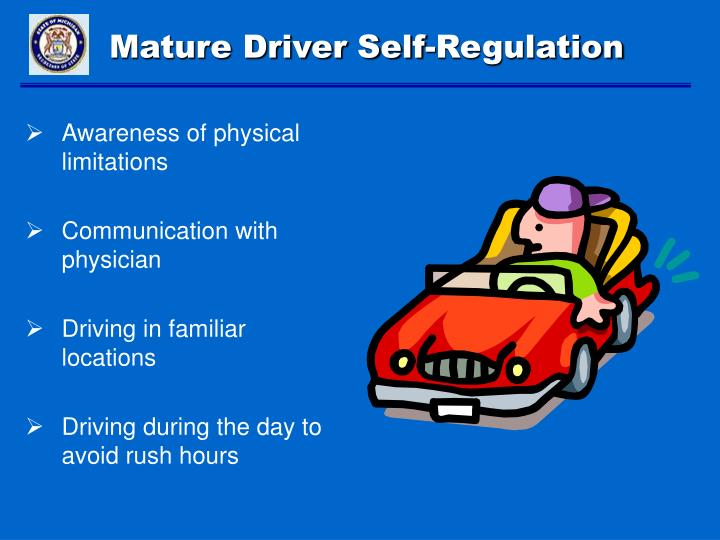 Mature Driver Self-Regulation