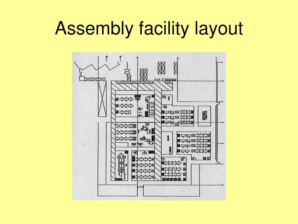 Assembly facility layout