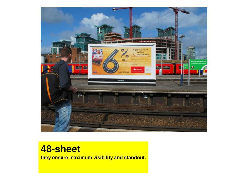 48-sheet