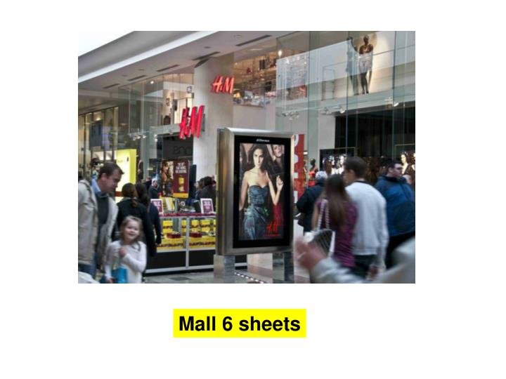 Mall 6 sheets