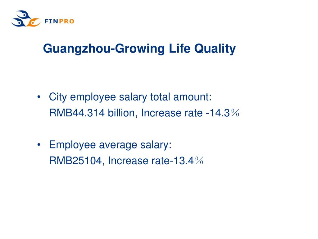 Guangzhou-Growing Life Quality