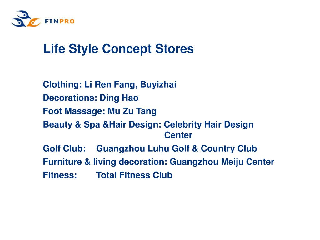 Life Style Concept Stores