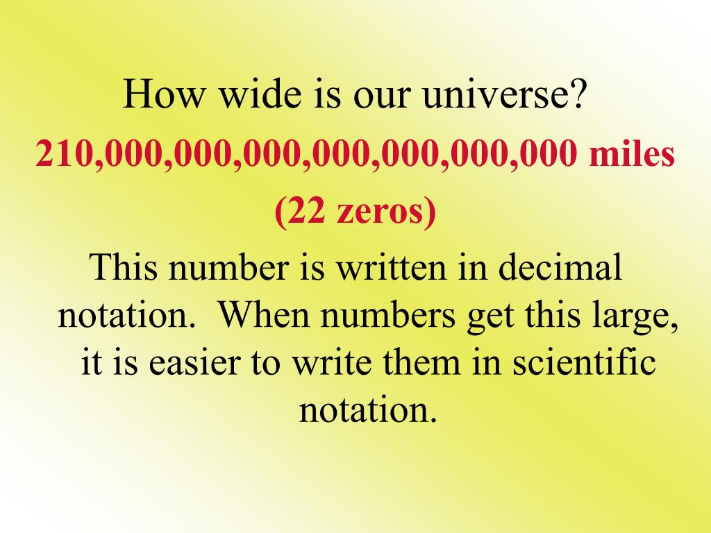 How wide is our universe?
