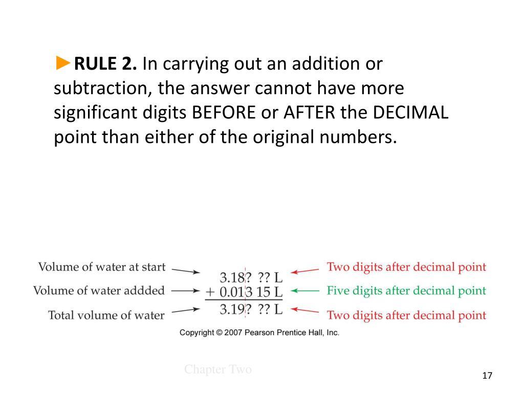 RULE 2.