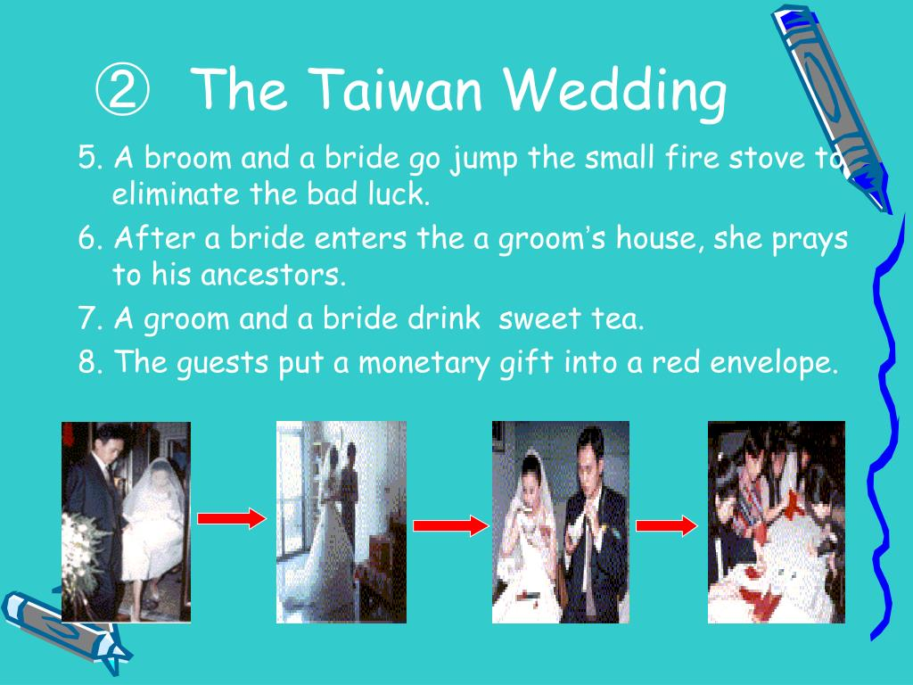 5. A broom and a bride go jump the small fire stove to eliminate the bad luck.