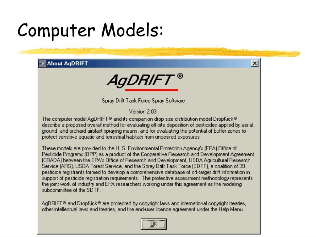 Computer Models: