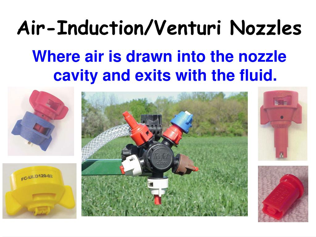 Air-Induction/Venturi Nozzles