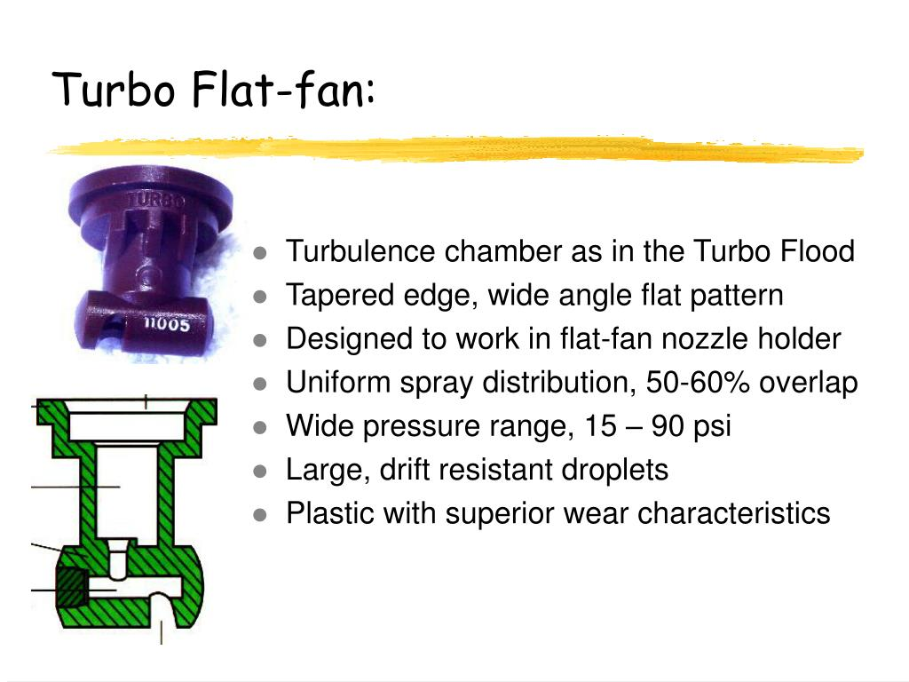 Turbo Flat-fan: