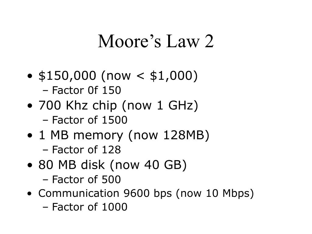 Moore's Law 2